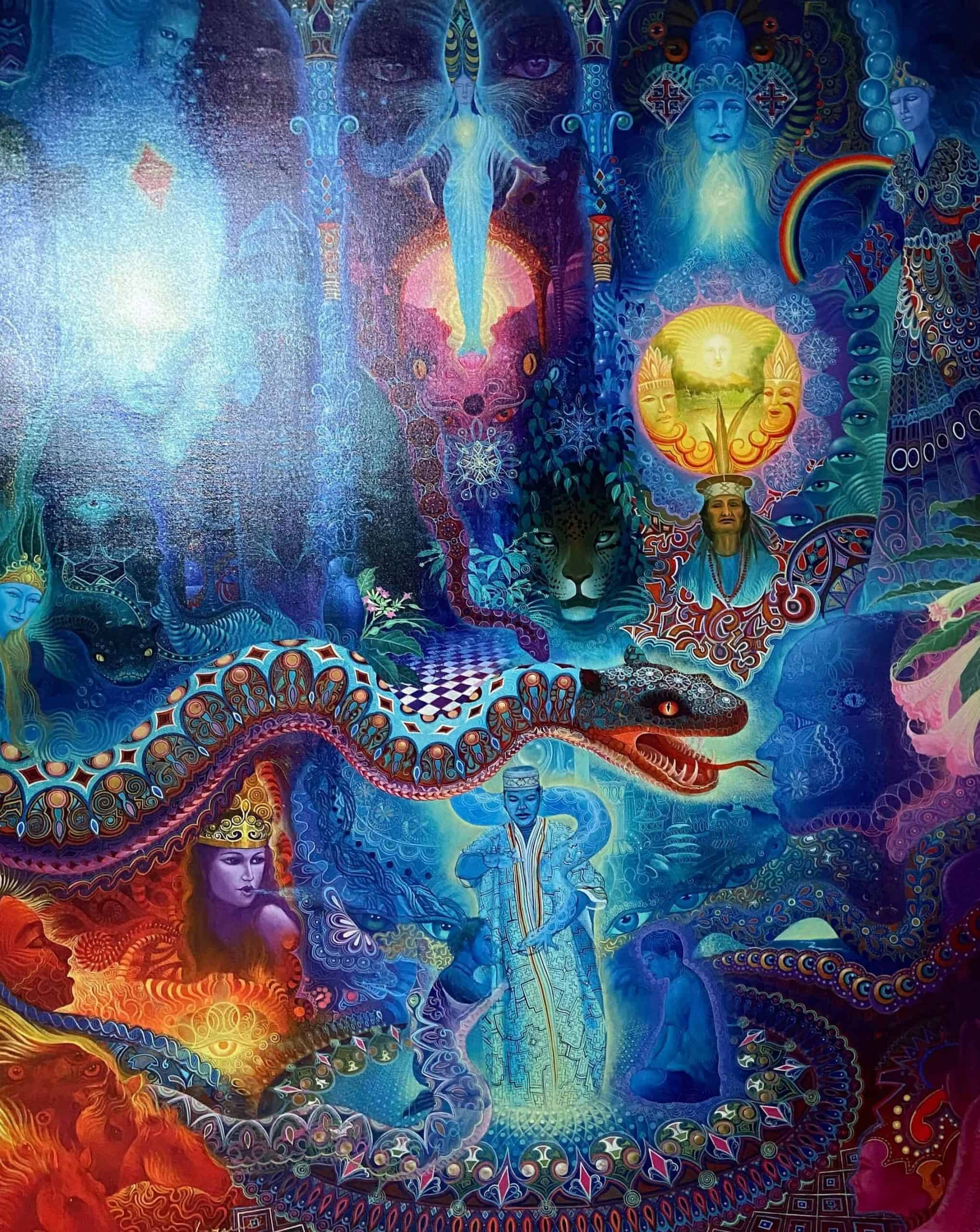 Magic Serpent by Anderson Debernardi https://shamanic-dream.com/anderson-debernardi/